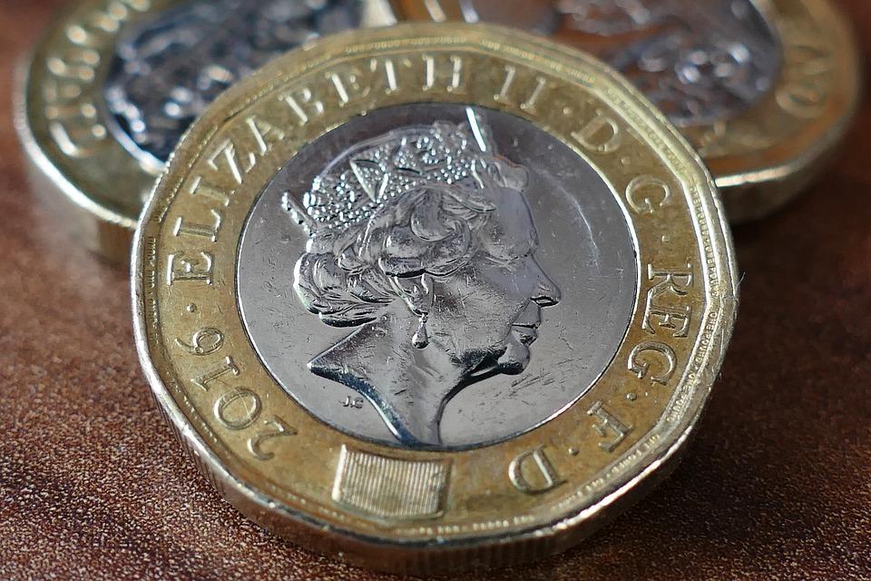 britská mince