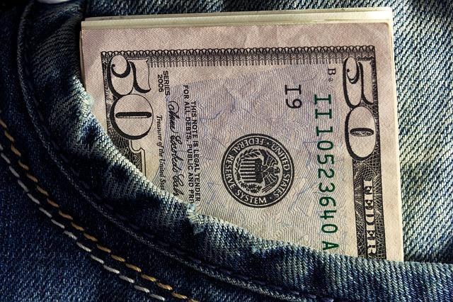 dolary v kapse